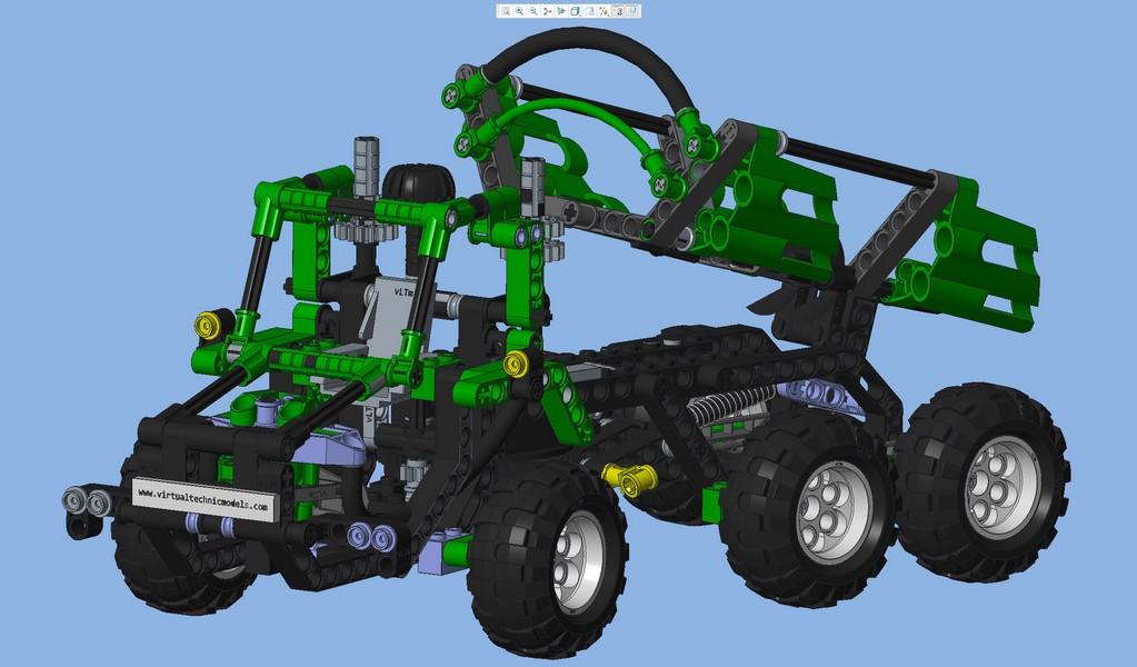 Virtual Lego Technic Model Vltm 8446 2 Virtual Lego Technic Models