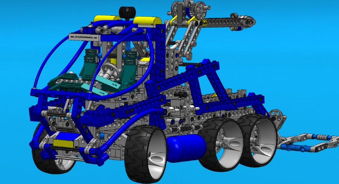 Virtual Lego® Technic Model - vLTm 8462-1
