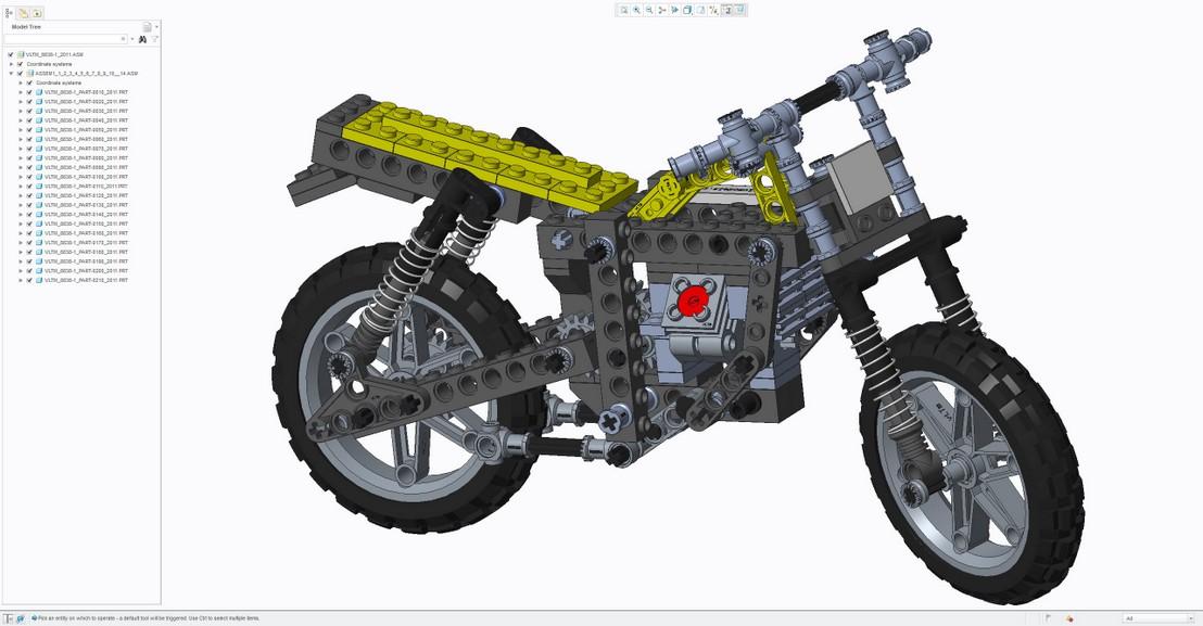 Virtual Lego® Technic Model - vLTm 8838-1