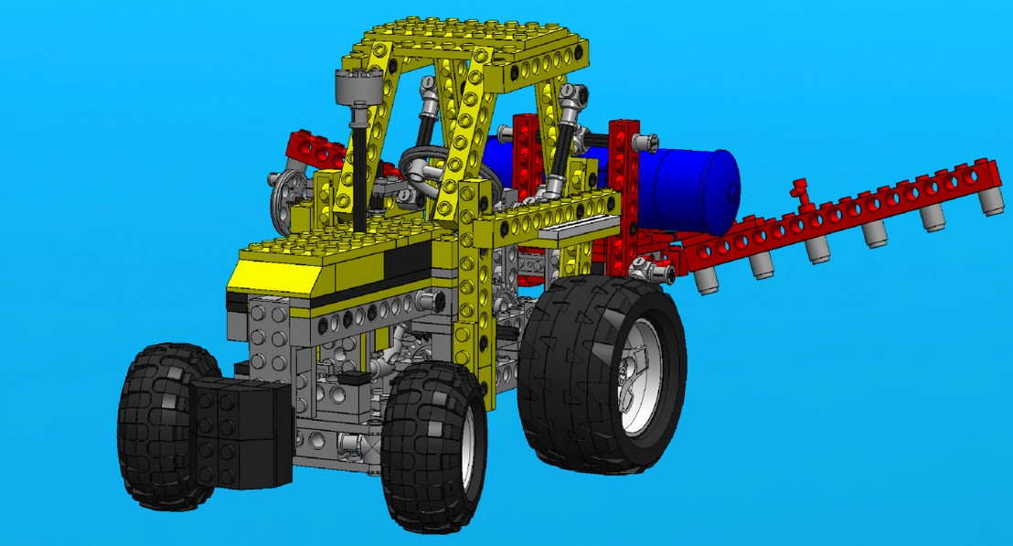 Virtual Lego® Technic Model - vLTm 8849-1