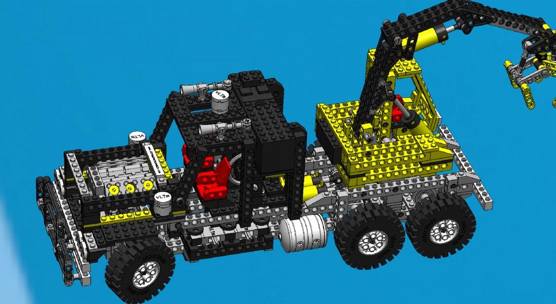 Virtual Lego® Technic Model - vLTm 8868-1