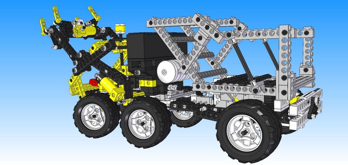 Virtual Lego® Technic Model - vLTm 8868-2 - ReR - Virtual Lego® Technic  Models